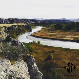 Fort Rock, Gallatin River, Montana