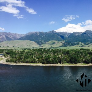 Paradise Valley - Yellowstone River